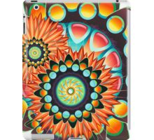 Happy Colorful Psychedelic Cool Funky Pattern iPad Case/Skin