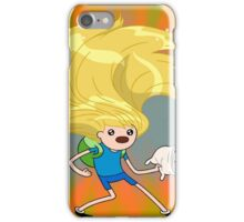 Finn hair iPhone Case/Skin