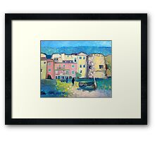 Laigueglia at night Framed Print
