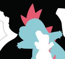 Totodile Evolutions Sticker