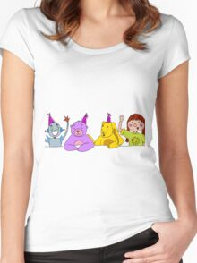 Toy Party Women's Fitted Scoop T-Shirt
