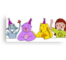 Toy Party Canvas Print