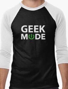 Geek Mode Men's Baseball ¾ T-Shirt