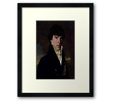 Prince Sherlock Framed Print