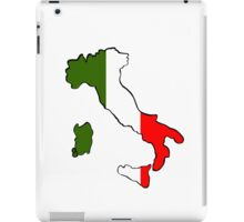 Map of Italy iPad Case/Skin