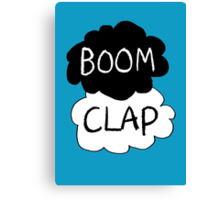 Boom Clap (sound of my heart - TFIOS) Canvas Print