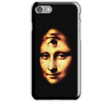 monalisa kaladua iPhone Case/Skin
