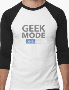 Geek Mode On Men's Baseball ¾ T-Shirt