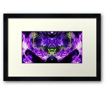 WireFire Framed Print