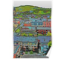 Montreal Suburb (vertical) Poster