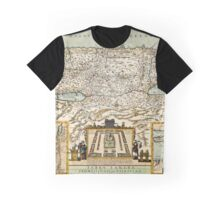 Map Of Israel 1660 Graphic T-Shirt
