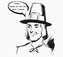 Pilgrim - First Thanksgiving - Ironic Baby Tee