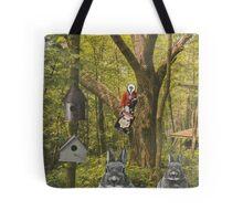 Bunny watcher Tote Bag