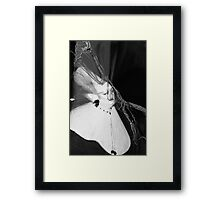 The Alien Nun Framed Print
