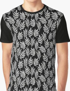 Silver leaf patern 2 Graphic T-Shirt