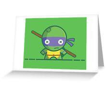 Donatello - Voodoo Dolls Series - TMNT Greeting Card