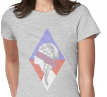Blindfold Womens Fitted T-Shirt