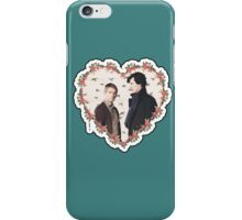 HEARTED JOHNLOCK iPhone Case/Skin