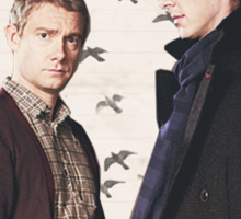 HEARTED JOHNLOCK Sticker