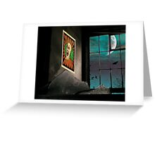 A very Haunted House Greeting Card