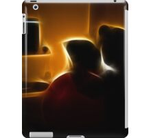 Couple Watching the TV iPad Case/Skin