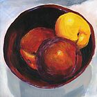 Stoned Fruit in Acrylic by Amy-Elyse Neer