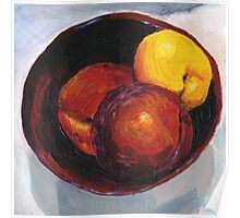 Stoned Fruit in Acrylic Poster