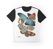 Eugene Seguy 1924 French Butterfly Print Plate 11 Graphic T-Shirt