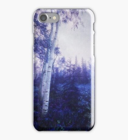 Wander trough the foggy forest iPhone Case/Skin