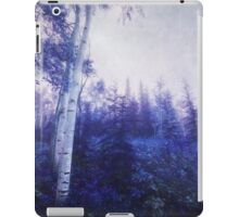 Wander trough the foggy forest iPad Case/Skin