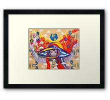 Vision Quest Framed Print