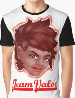 Candela Team Valor Pokemon Go  Graphic T-Shirt