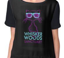 Whisker Woods Sanctuary Chiffon Top