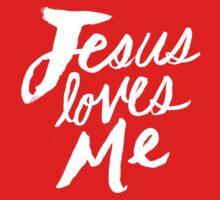 Jesus Loves Me x Rose One Piece - Short Sleeve