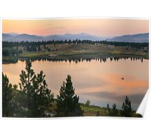 Methow Valley Sunset Poster