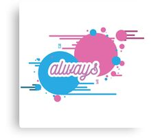 "BLINK 182 INSPIRED - ""ALWAYS"" Canvas Print"