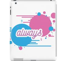 "BLINK 182 INSPIRED - ""ALWAYS"" iPad Case/Skin"