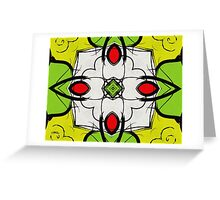 Color Symmetry Greeting Card