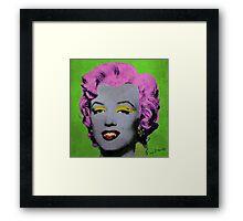 Vampire Marilyn variant 2 Framed Print