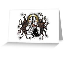BALI ELEPHANT Greeting Card