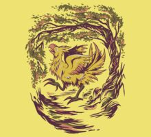 Chocobo with Blossoms Kids Clothes