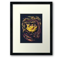 Chocobo with Blossoms Framed Print