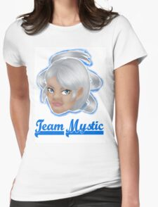 Blanche Team Mystic Pokemon Go Womens Fitted T-Shirt