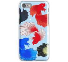 Bettas and Bubbles iPhone Case/Skin