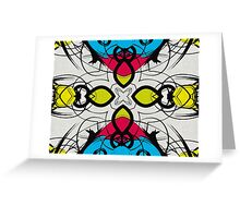 Color Symmetry 3 Greeting Card