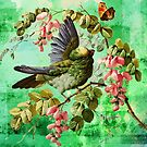 BIRD AND BUTTERFLY by Tammera
