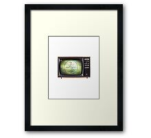 Please Stand By... Framed Print