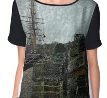 Pots, Masts & Rigging Chiffon Top