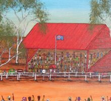 """Outback Race Day"" EJCairns; SOLD Sticker"