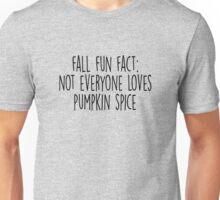 Not Everyone Loves Pumpkin Spice Unisex T-Shirt